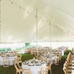 Wedding Tent Epicure Catering and Cherry Basket Farm