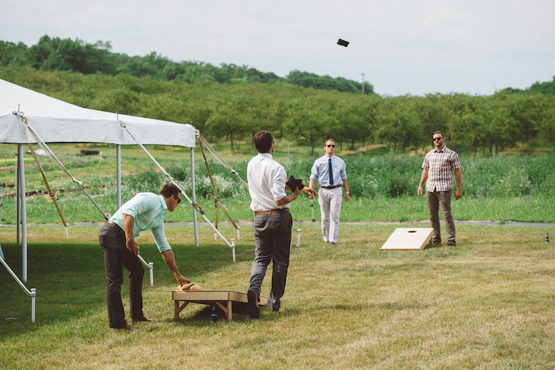 Epicure Catering Cherry Basket Farm Yard Games
