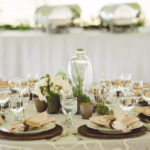 Wedding Table Decor Epicure Catering and Cherry Basket Farm