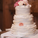 Wedding Cake | Wedding Cake | Farm to Table Wedding | Epicure Catering and Cherry Basket Farm | Northern Michigan Barn Wedding Venue Omena MI