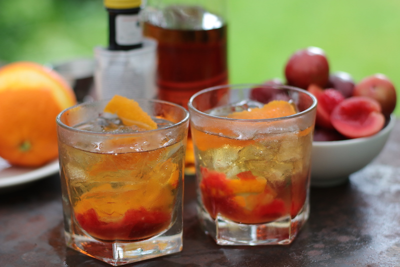 Epicure Catering | Coriander Plum Old Fashioned | Classic Cocktails