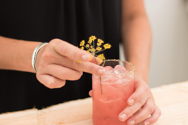 Heirloom Tomato Margarita | Epicure Catering | Farm to Table Catering | Fall Cocktail