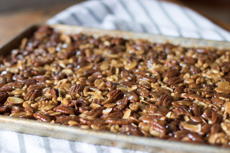Epicure Catering | Cherry Basket Farm | Holiday Nut Bar Recipe | Farm to Table Catering |Sarah Peschel